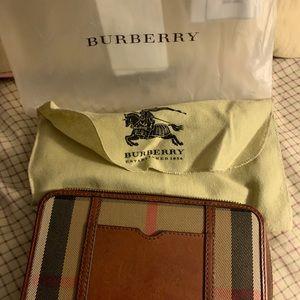 Burberry Classic Check Zipper Wallet